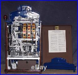 Jennings 5-cent DIXIE BELLE antique slot machine, 1940
