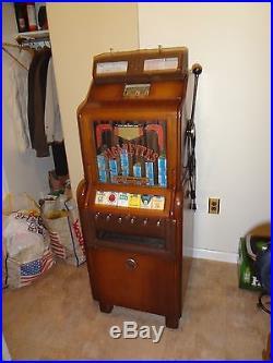 Jennings CigaRola cigarette slot machine 1939