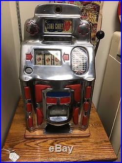 Jennings Club Chief 10c Slot Machine