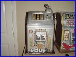 Jennings Conversion Bell 10 Cent Slot Machine For Chas. Fey Mfg. S. F