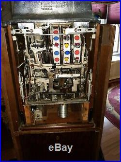 Jennings Dollar Prospector Console Slot-Machine SOOO NICE wrks nice NEVADA CLUB