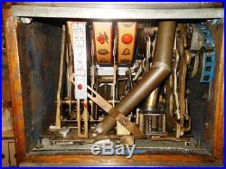 Jennings Gooseneck slot machine with working future pay unit