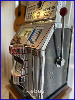Jennings Governor Slot Machine With Stand