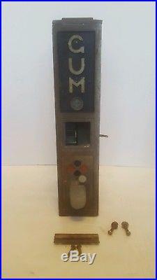 Jennings Little Duke Slot Machine Side Vendor Original