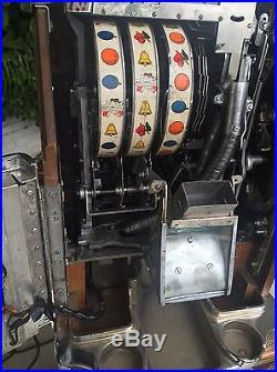 Jennings Nevada Club 25 Cent Continental Light Up Slot Machine