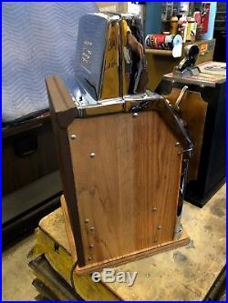 Jennings Nevada Club Light Up Governor 5 Cent Slot Machine Restored