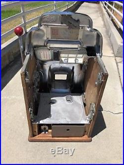 Jennings Nevada Club Standard Chief 5 Cent Slot Machine Restored