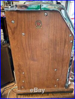Jennings One Dollar Nevada Club Jennings Antique Slot Machine RARE Works Great