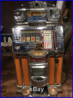 Jennings Rare Antique Slot Machine Baby Buckaroo