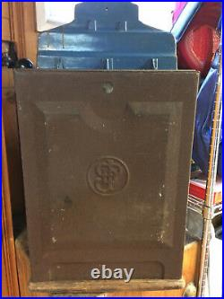 Jennings Silver Chief 5 Cent Slot Machine, Original Condition & Works