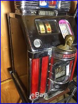 Jennings Silver Dollar Light up slot machine