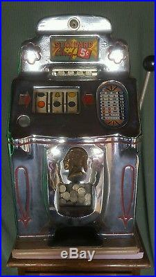 Jennings Slot Machine 5 Cent Chief Jammed