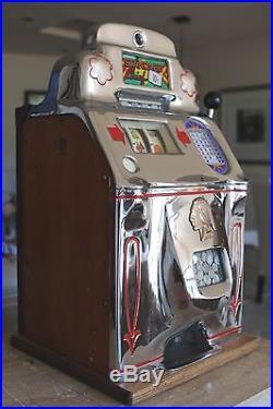 Jennings Standard Chief 10 Cent Slot Machine (Must Read) Antique