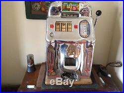 Jennings Standard Chief 5 cent Nickel Slot Machine