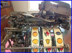 Jennings Sun Chief Slot Machine Special Flamingo Club Console Antique
