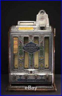 Jennings Trade Stimulator/ Slot Machine Working Real Nice L@@K