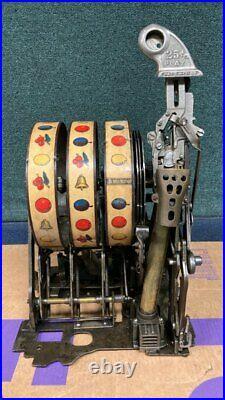 Jennings slot machine QUARTER mechanism