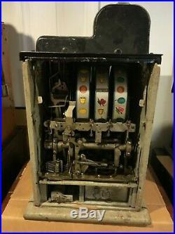 Lot Mills 5, 10 & 50 Cent Diamond Front mills Mills Slot Machine Ten Fifty Five