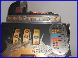 MILLS 1930S 25 CENT Original Bursting Cherry Slot-Machine