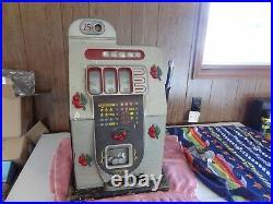 MILLS 25 c BLACK CHERRY antique slot machine