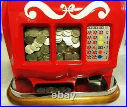 MILLS 5c QT Sweetheart Slot Machine circa 1930 fully restored