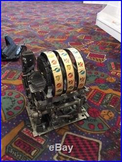 MILLS ANTIQUE SLOT MACHINE, FOK VENDOR MODEL 5c FULLY RESTORED BEAUTY