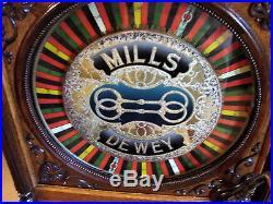 Mills Dewey Two Bits Slot Machine Mint Restored