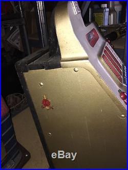 Mills Golden Falls 50 Cent Antique Slot Machine
