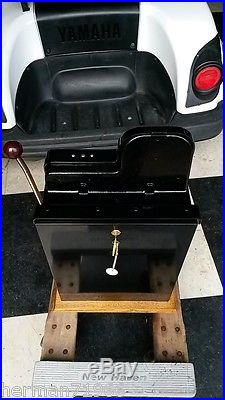 MILLS GOLDEN NUGGET 25 CENT SLOT MACHINE Fully Working 100% Must see! WOW