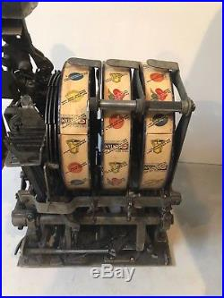 MILLS NOVELTY / PACE NOVELTY conversion-original condition-called YE OLDE MILL