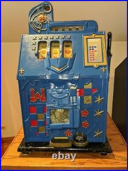 MILLS Novelty Co. Castle Front 5 cent Coin Operated Slot Machine, 1930's era