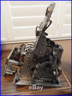 Mills Original 1934 5 Cent Qt 20 Star Slot Machine Great Condition