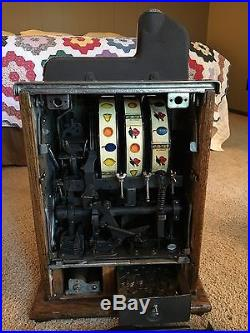 MILLS Original Bursting Cherry 5 Cent Slot Machine