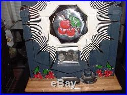 MILLS Original Bursting Cherry Slot-Machine / Perfect Condition