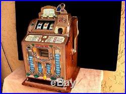 Mills / Rock Ola 1923 Fok Mint Vendor 5 Cent Slot Machine