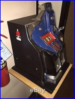 MILLS THUNDERBIRD QT SLOT MACHINE OLDER RESTORATION