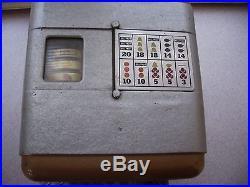 Mills Vest Pocket Slot Machine 100% Original With Matching Numbers Lock & Key