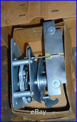 MILLS new-old-stock antique slot machine clocks, NEVER USED, set of 2, NIB