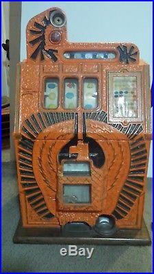 Mill's 1930's War Eagle 5 Cent Slot Machine