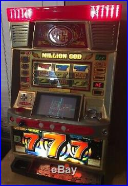 Million God Game CASINO SLOT MACHINE VEGAS style made in Japan Mizuho