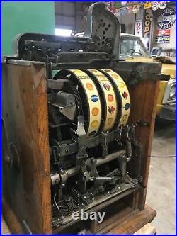 Mills. 10 Cent castle front slot machine