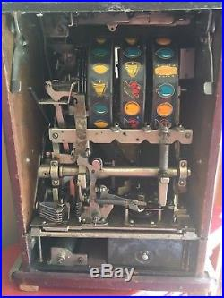 Mills 10 cent Golden Nugget slot machine WORKS