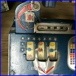 Mills 10c Castle Front Slot Machine