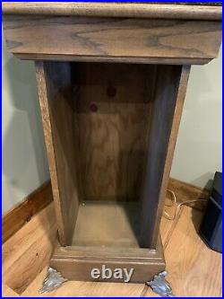 Mills 1923 Liberty Bell Five Cent Slot Machine With Stand