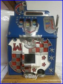 Mills 25 Cent Castle Front Repro Coin Op Slot Machine