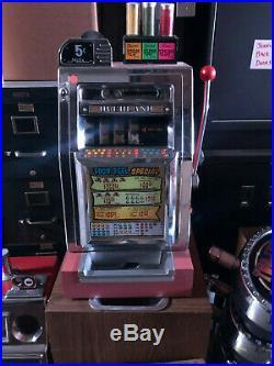 Mills 25 Cent Hi Top Restored