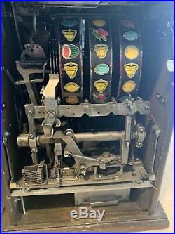 Mills 25 Cent antique slot machine