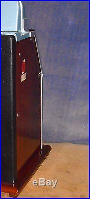 Mills 25-cent BURSTIN CHERRY antique slot, ca. 1937, rare 3-10 payout