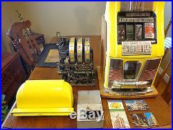 Mills 25 cent Deuce's Wild Slot Machine