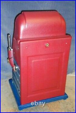 Mills 25c JEWEL BELL antique slot machine, 1946
